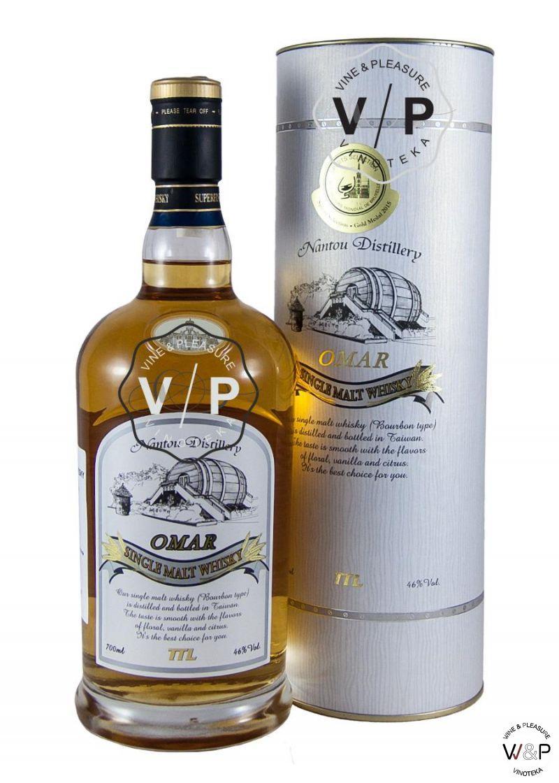 Bourbon Omar Malt 0.7L