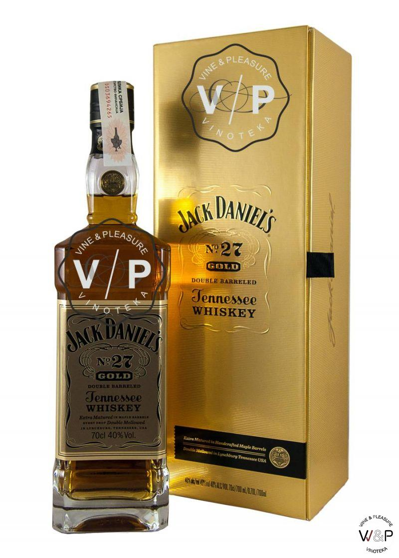 Whisky Jack Daniel's 150 Gold 0.7L